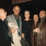 Ezio Gribaudo,Arthur Miller,Inge Morath,Oleg Tselkov,New York 1988