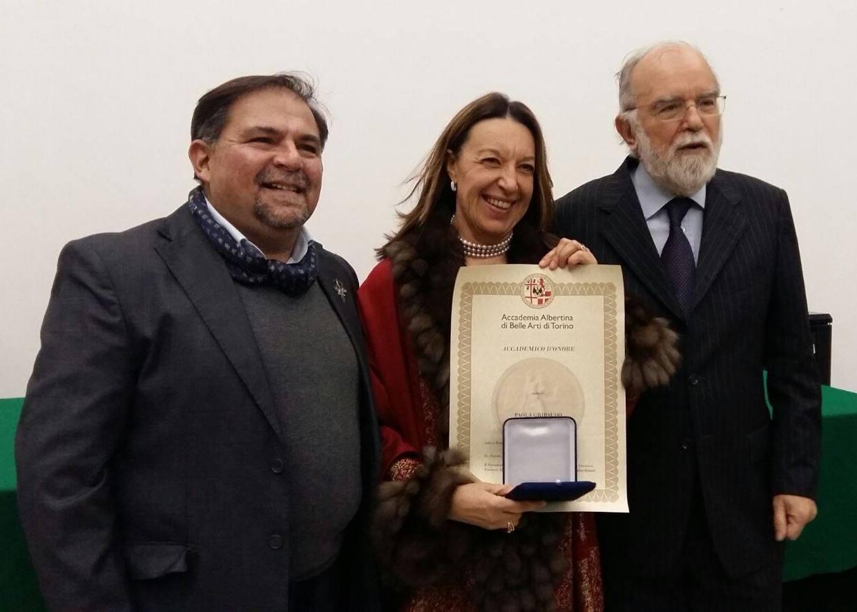Paola Gribaudo Presidente Accademia Albertina